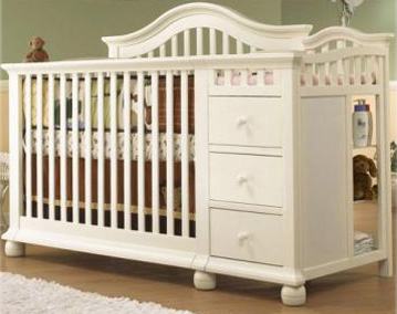 A Stylish, European Design 4 In 1 Crib Made Of Solid, Sturdy Construction  With Recessed Hardware For Your Childu0027s Safety. The Cape Cod 4 In 1 Can Be  Used As ...