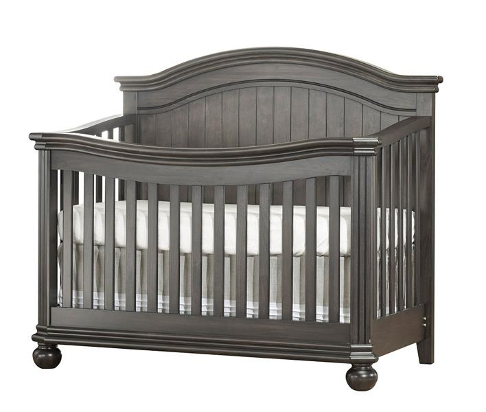 Finley Collection Crib in Grey