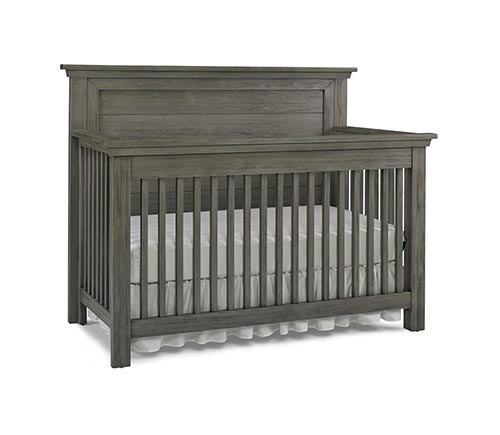 Lucca Flat Panel Convertible Crib