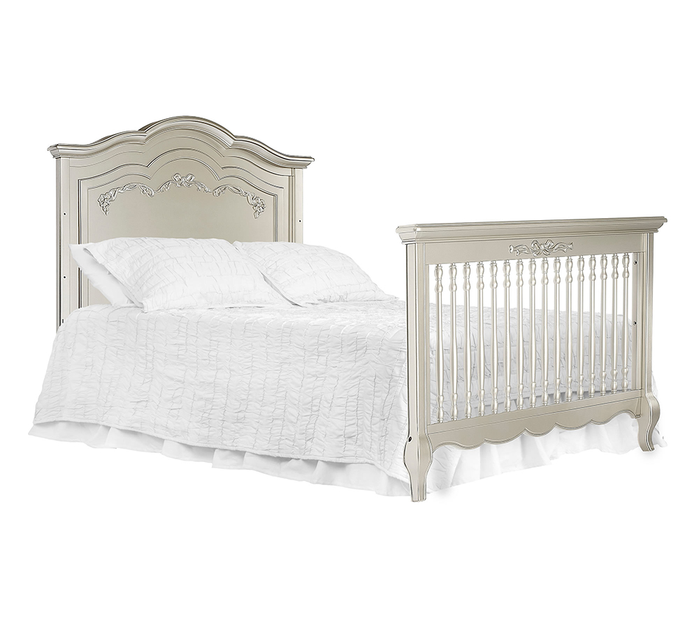 Evolur Aurora Convertible Crib Bed in Gold Dust