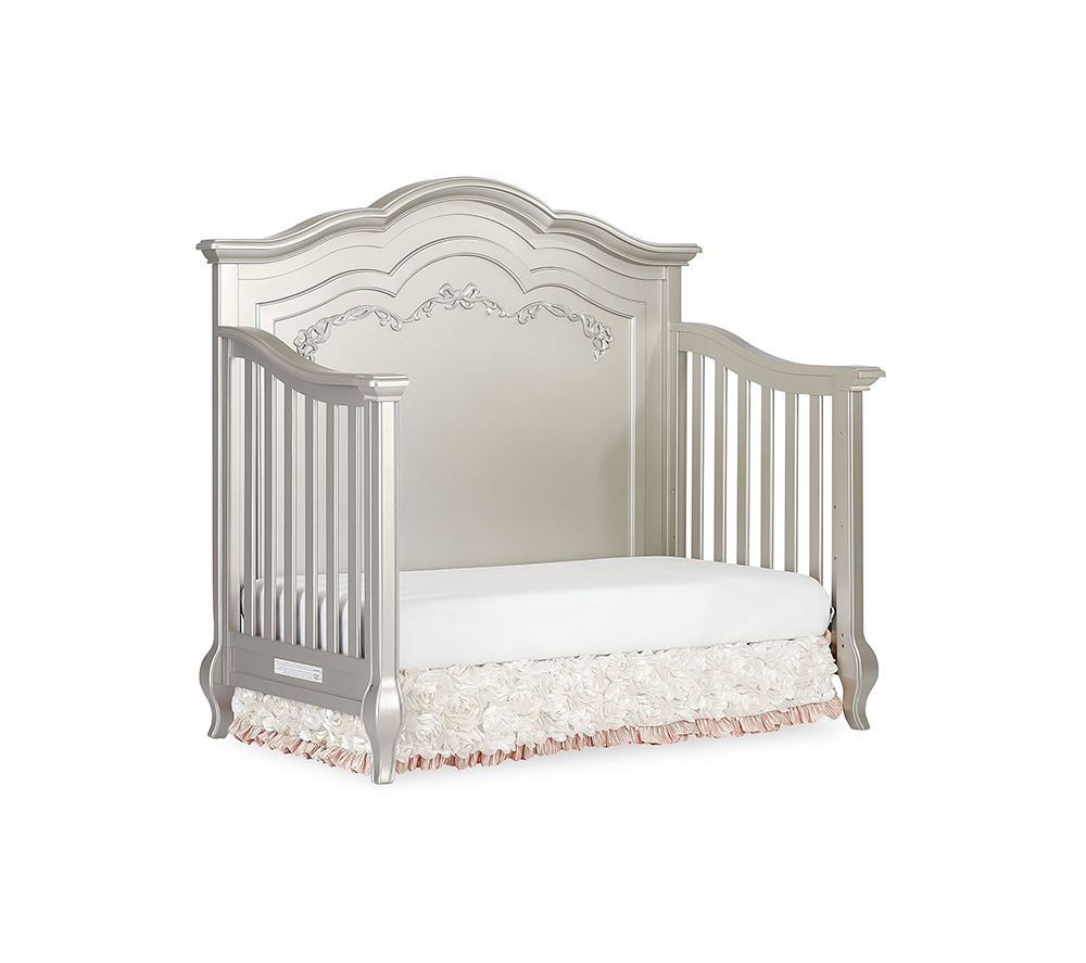 Evolur Aurora Convertible Crib Day Bed in Gold Dust