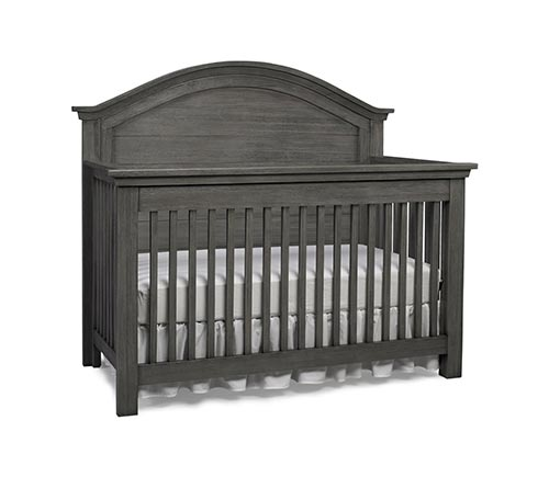 Lucca Full Panel Convertible Crib