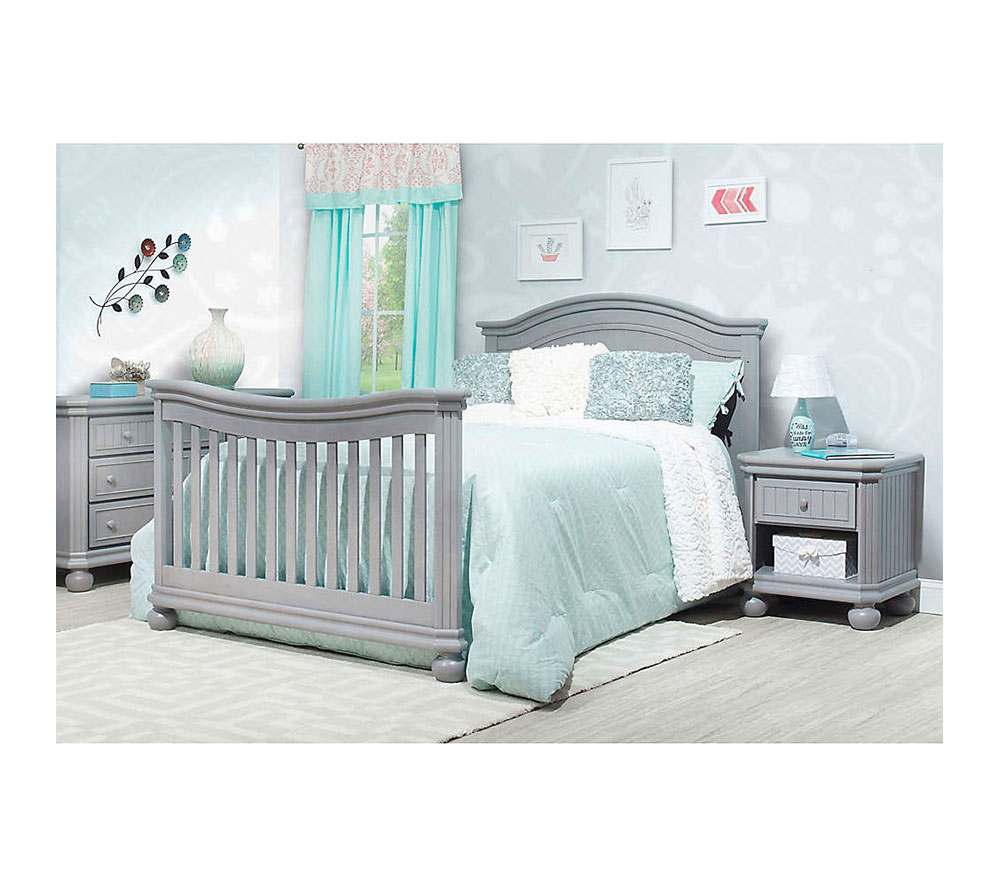 Finley Collection Crib Full Bed Room