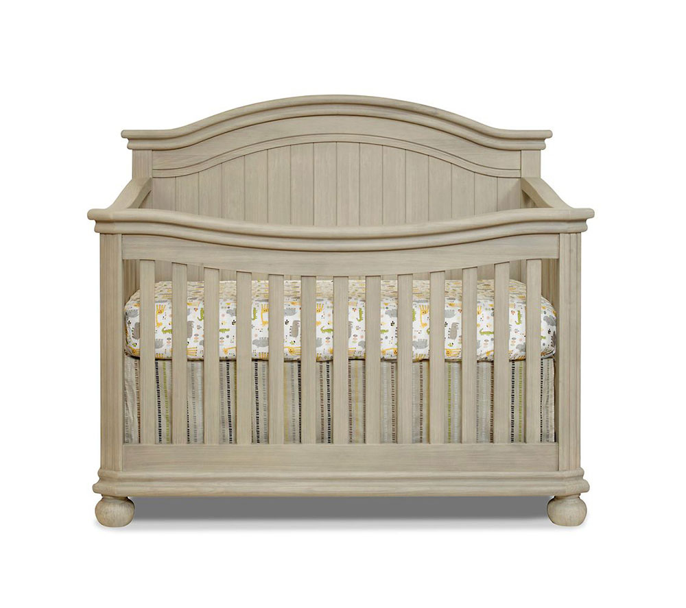 Finley Collection Crib in Heritage Fog