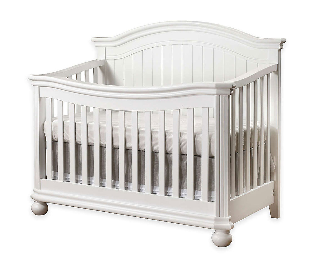 Finley Collection Crib in White