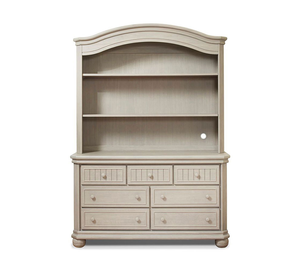 Finley Collection Hutch in Heritage Fog