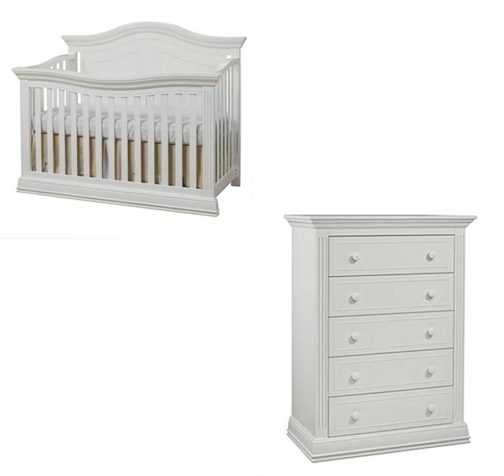 Providence 2 Piece Set: Crib and Chest